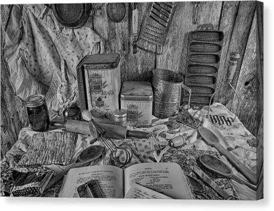Cornbread Canvas Print - Wow  The Old Kitchen by Gary Ezell