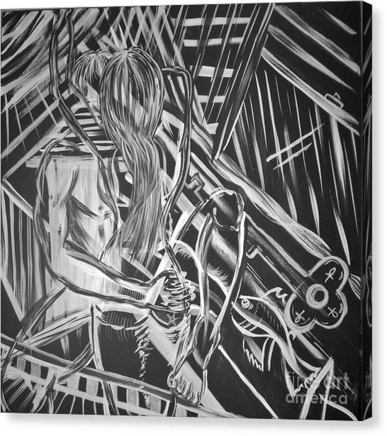 Wrap Sure Rapture Canvas Print by Adriana Garces