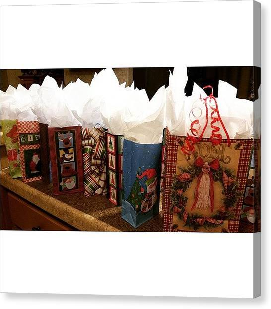 Teachers Canvas Print - #wrapping Since We Got Home! Finally, I by Nikki French Smith