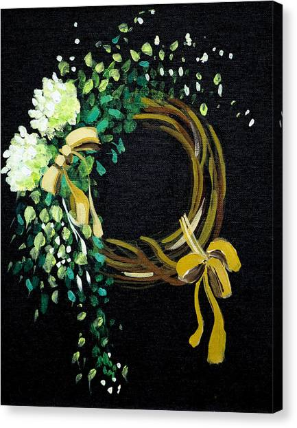 Wreath  Canvas Print