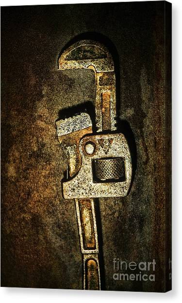 Wrenches Canvas Print - Wrench by HD Connelly
