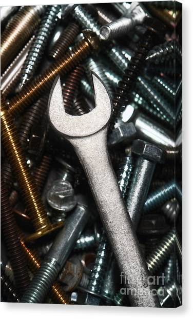 Wrenches Canvas Print - Wrench by Olivier Le Queinec