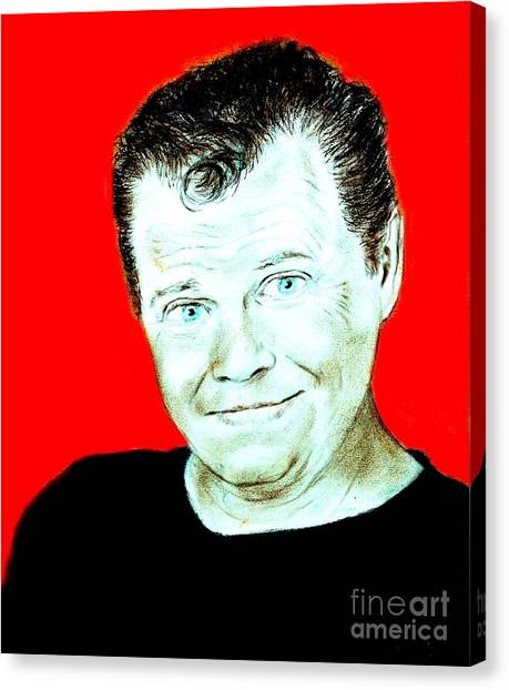 Jim Carrey Canvas Print - Wrestling Legend Jerry The King Lawler II by Jim Fitzpatrick