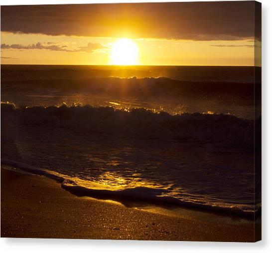 Wrightsville Beach Sunrise Canvas Print
