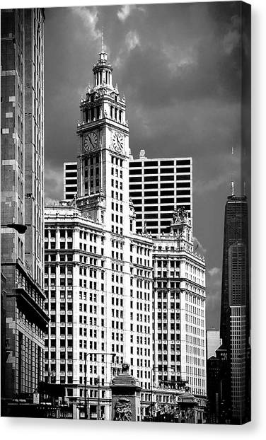 Wrigley Building Chicago Illinois Canvas Print