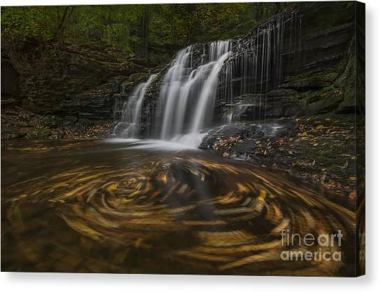 Wyandot Falls Canvas Print
