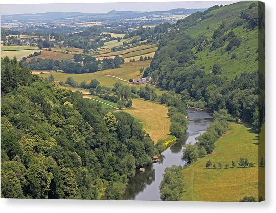 Wye Valley Canvas Print