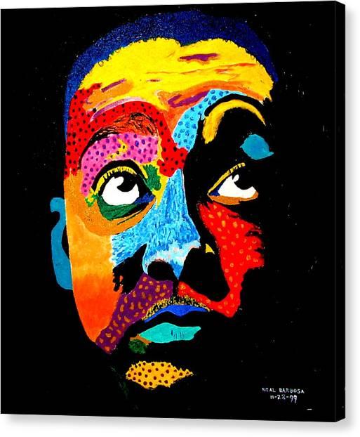 Wynton Marsalis Canvas Print