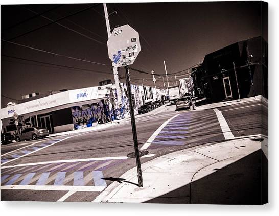 Wynwood Crossing Canvas Print