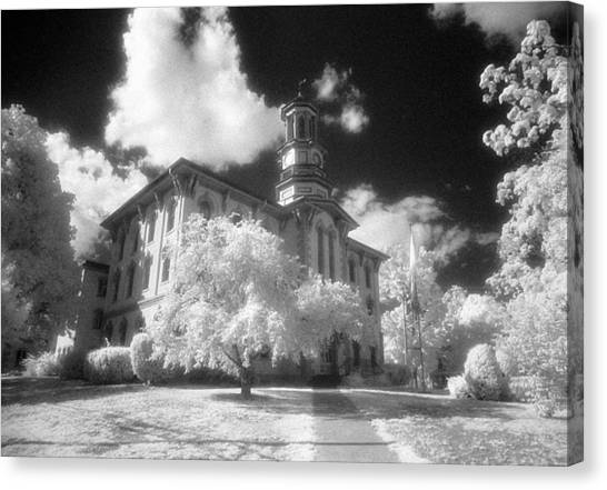 Wyoming County Courthouse Canvas Print