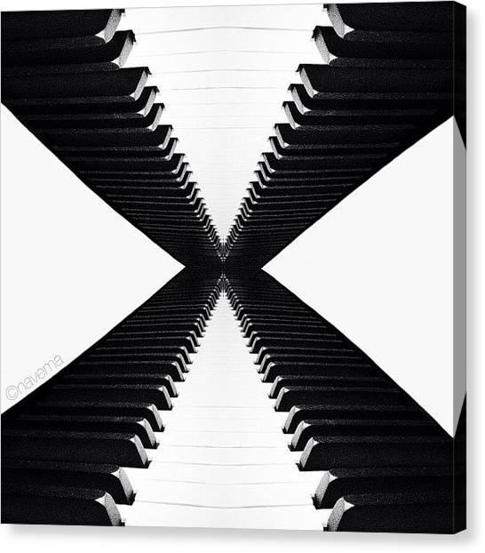 Abstract Canvas Print - X by Natasha Marco