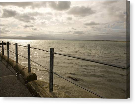 Across The Bay Canvas Print by Pro Shutterblade