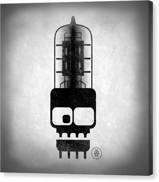 X-ray Tubeskull Canvas Print