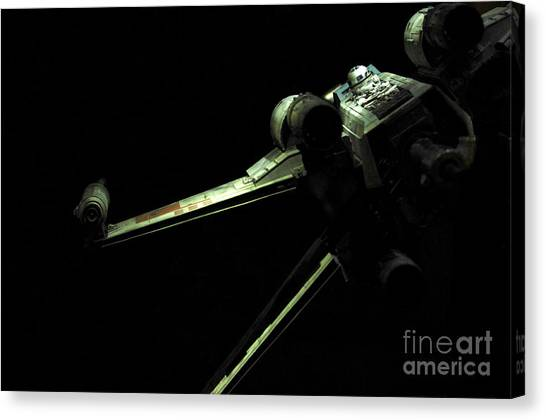 R2-d2 Canvas Print - X-wing Fighter by Micah May