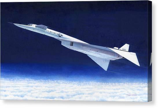 Xb-70 Canvas Print