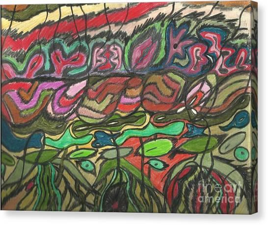 0059 Xiaos En Embuscade Canvas Print by Essel Emve
