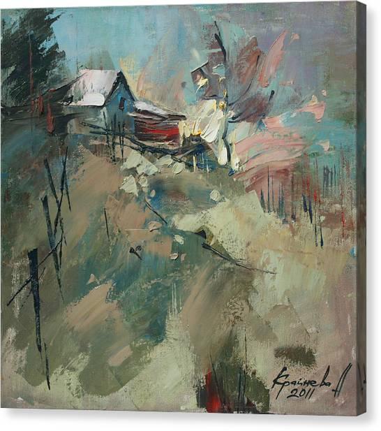 Yablunitsa Canvas Print