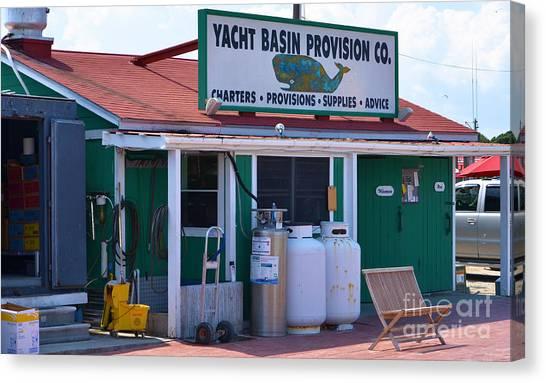 Yacht Basin Provision Co. Canvas Print