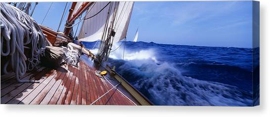 Sailing Race Canvas Print - Yacht Race by Panoramic Images
