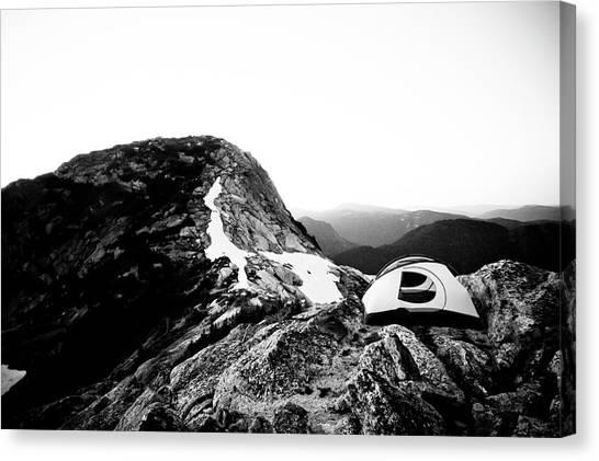 Yaks Canvas Print - Yak Peak by Christopher Kimmel