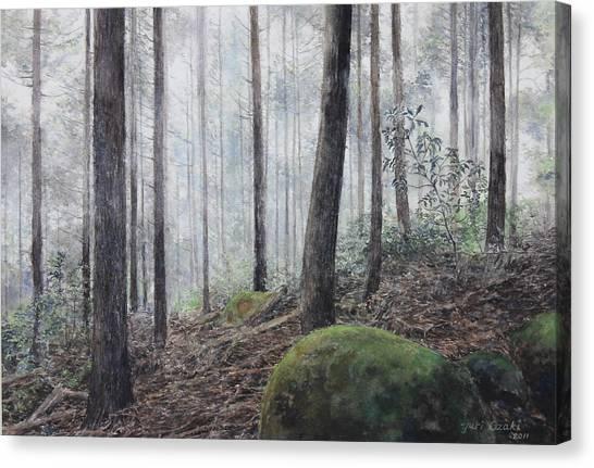 Yakiyama Trail 3 Canvas Print by Yuri Ozaki
