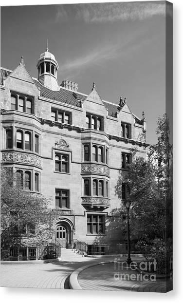 Vanderbilt University Canvas Print - Yale University Vanderbilt Hall by University Icons