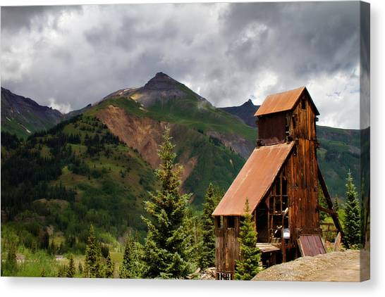 Yankee Girl Mine 2 Canvas Print