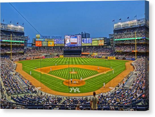 Yankee Stadium Canvas Print