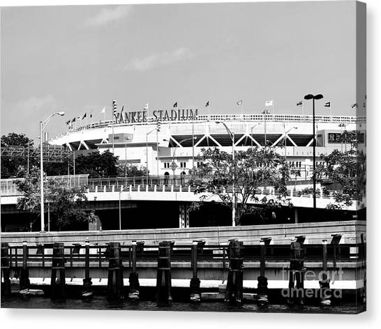 New York City Fc Canvas Print - Yankee Stadium by Robert Yaeger