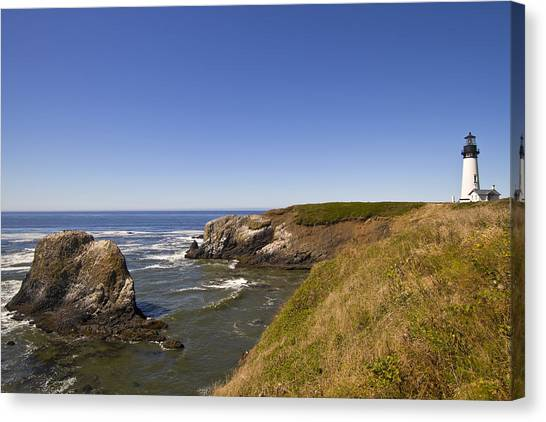Yaquina Head Lighthouse 4 Canvas Print