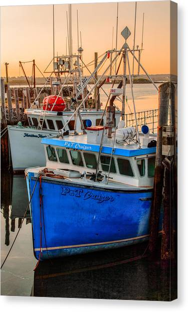 Yarmouth Harbour Canvas Print