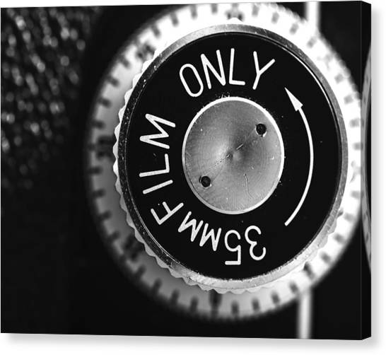 Vintage Camera Canvas Print - Yashica 635 - 35mm Only by Jon Woodhams