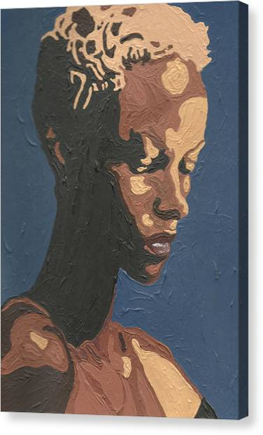Yasmin Warsame Canvas Print