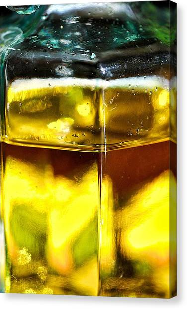Yellow Cage Canvas Print by Guillermo Hakim