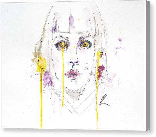 Yellow Canvas Print by Edgar Rafael