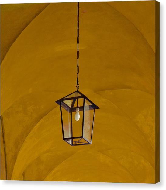 Yellow Canvas Print by Eugenia Kirikova