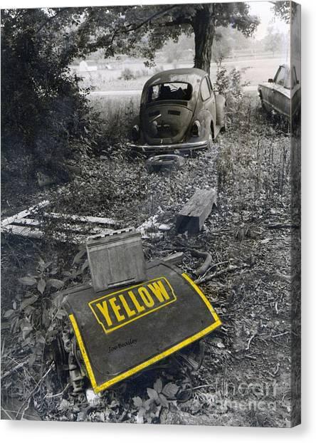 Yellow Canvas Print by   Joe Beasley