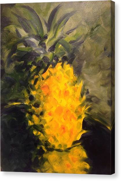 Yellow Light Canvas Print