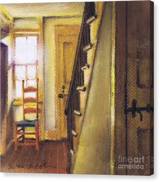 Yellow Room Canvas Print by Susan Herbst