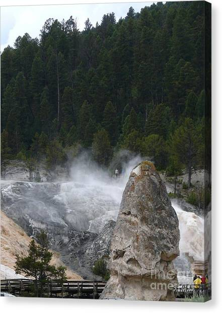 Yellowstone Canvas Print by Jeff Pickett