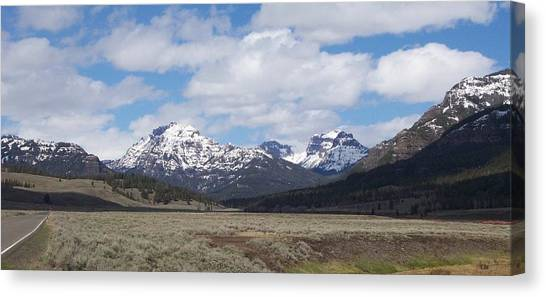 Yellowstone Park Canvas Print