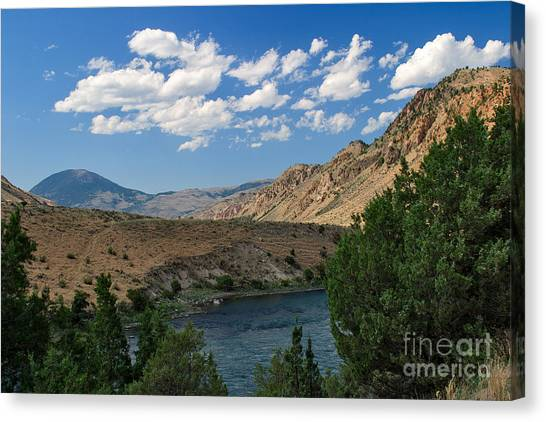 Yellowstone River Overlook Canvas Print
