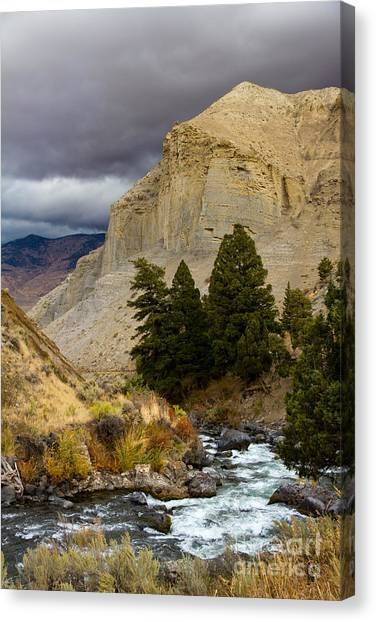Yellowstone's Beauty Canvas Print
