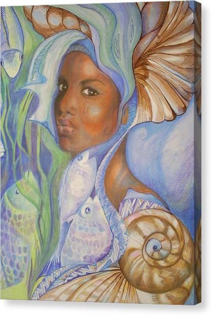 Yemoja Canvas Print