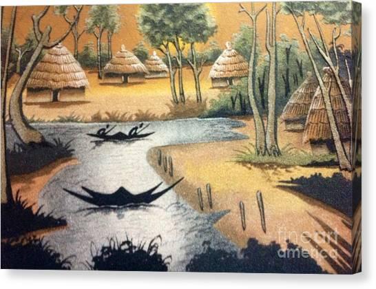 Yesayah Village  Canvas Print