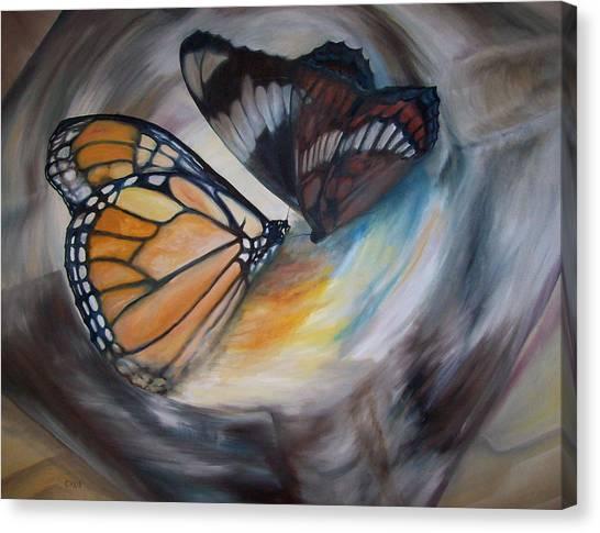 Yesterday's Butterflies Canvas Print