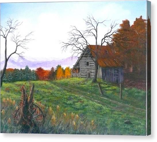 Yesteryear Autumn Canvas Print
