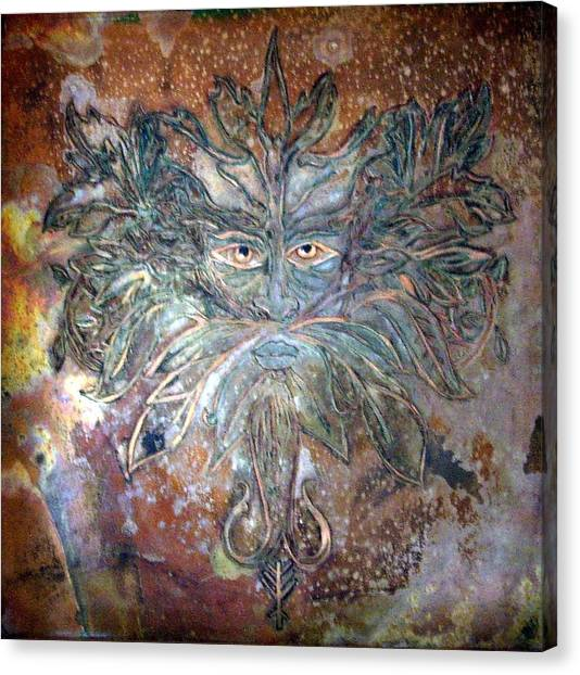 Yggdrasil Rune Greenman Canvas Print