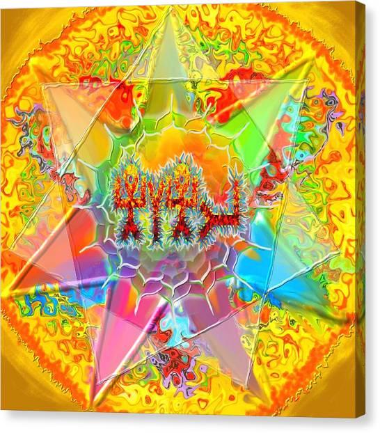 Yhwh 9 7 2014 Canvas Print