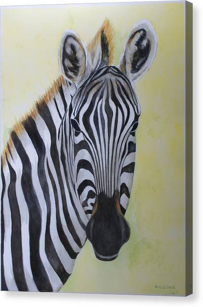 Yipes Stripes Canvas Print